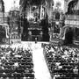 Charterfeier am 31. Oktober 1970 in der Klosterkirche Muri. Bild: zvg