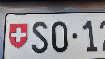 Vierstellige Solothurner Autonummern sind momentan günstiger zu haben.