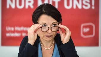 Pluspunkt Exekutiverfahrung: Yvonne Feri bei der Ankündigung ihrer Regierungsratskandidatur.