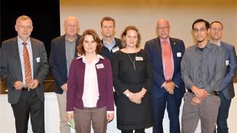 Vertreter verschiedener Institutionen orientierten am Montag über das Vorgehen bei der Standortwahl für das geologische Tiefenlager.