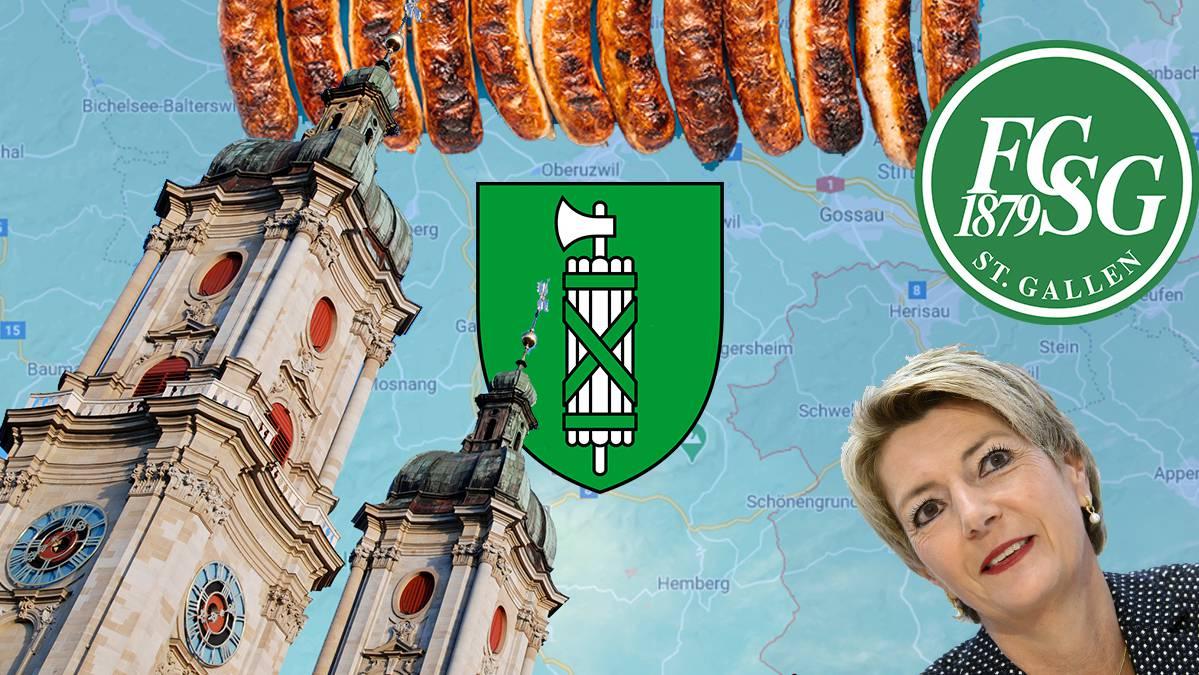 Hier kannst du dein Wissen zum Kloster, Karin Keller-Sutter und Co. unter Beweis stellen.
