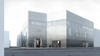 Erster Preis: Das Projekt von Christ + Gantenbein sieht eine unterirdische Verbindung vom jetzigen Gebäude in den Neubau vor. (zvg)