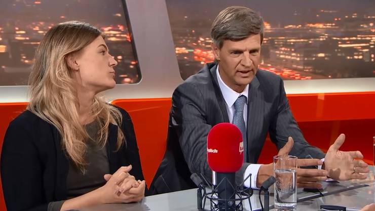 """Pflichtverteidiger Urs Huber erläutert im """"Talk Täglich"""", mit welcher Strafe Angela Magdici rechnen muss."""