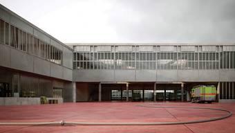 Die neue Wache Nord: Der Aussenbereich dient als Zufahrt, Manövrierfläche – und er kann als Übungsplatz genutzt werden.