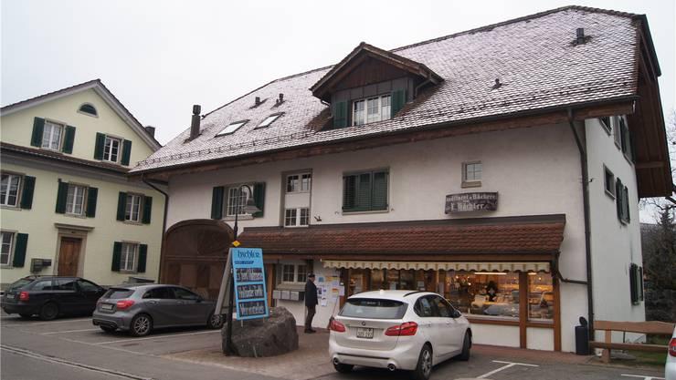 Seit 1875 führt die Familie Hächler an der Dorfstrasse eine Bäckerei – und bald auch ein Café. Archiv