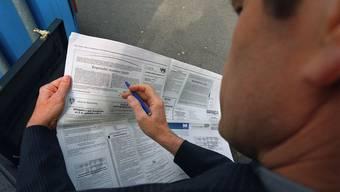 Im Kanton Aargau ist die Arbeitslosenquote im März im Vergleich zum Vormonat um 0,1 Punkte auf 3,2 Prozent zurückgegangen. (Archiv)