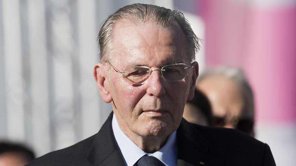 Jacques Rogge war von 2001 bis 2013 Präsident des Internationalen Olympischen Komitees