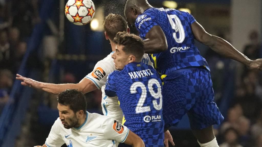 Der Neue steigt am höchsten: Romelu Lukaku köpfelt Chelsea zum Sieg gegen Zenit St. Petersburg