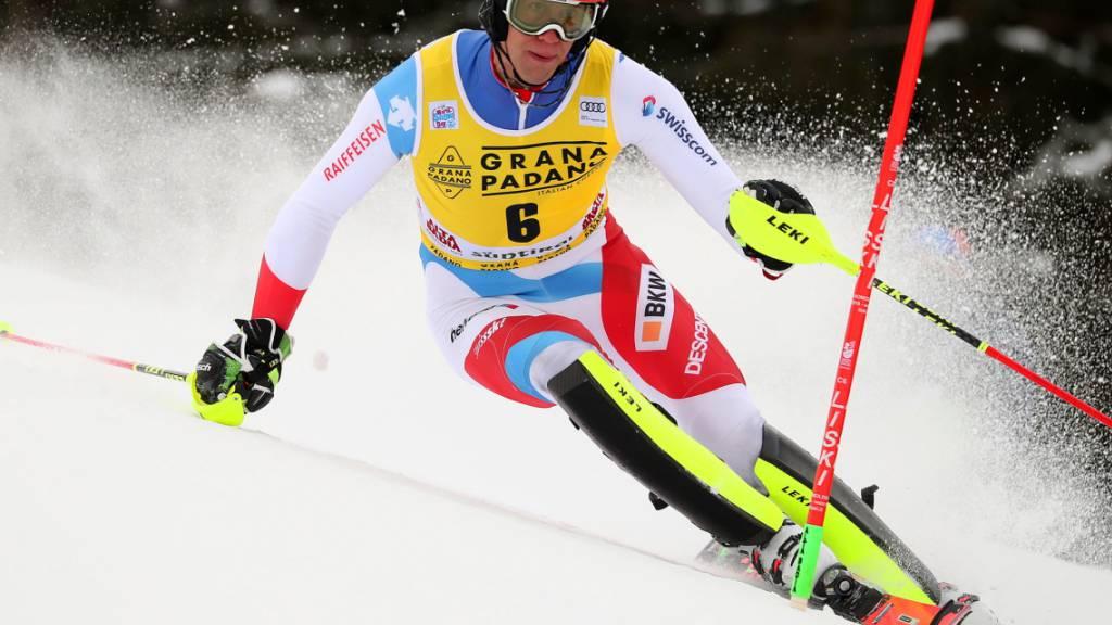 Zenhäusern siegt beim Slalom-Auftakt in Alta Badia