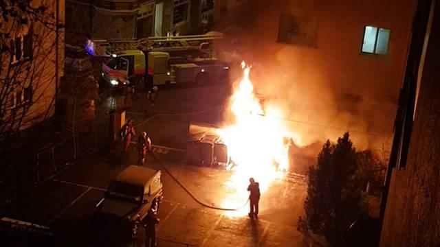 Tote Person nach Brand entdeckt