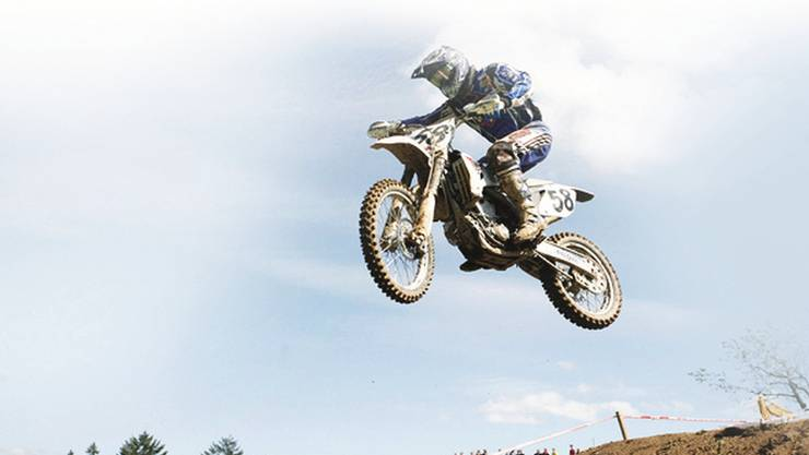 Motocross-Rennen fand bisher in Günsberg (Archiv)