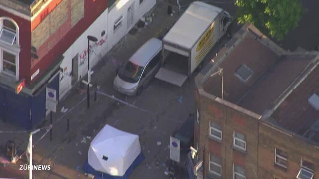London: Lieferwagen rast in Gruppe Gläubige