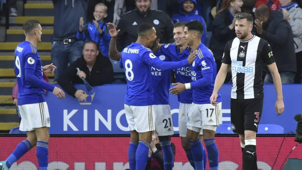 Leicester jubelt, Newcastle schleicht davon