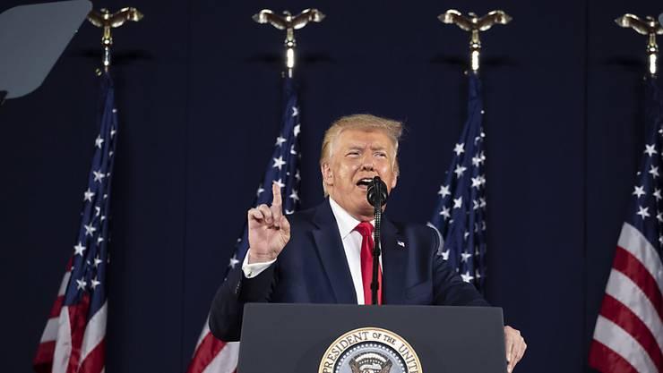 US-Präsident Donald Trump plant eine weitere grosse Wahlkampfveranstaltung. (Archivbild)