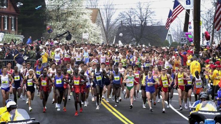 Die Darmflora von Marathon-Läufern unterscheiden sich von der von hauptsächlich sitzenden Menschen. (Archivbild)