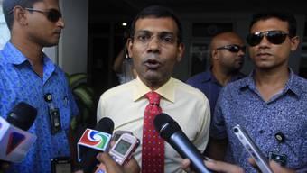 Ex-Präsident Nasheed vor der Wahl in den Malediven im Oktober 2013