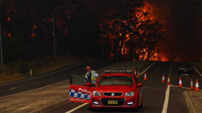 Mindestens 12 Tote bei Flammeinferno in Australien