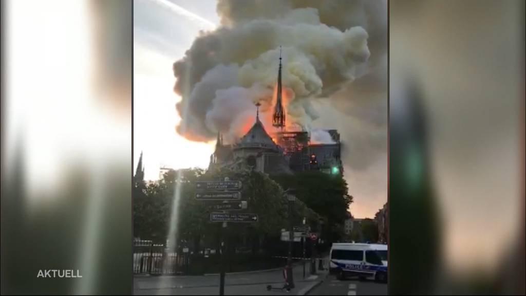 Tragödie: Notre-Dame in Flammen