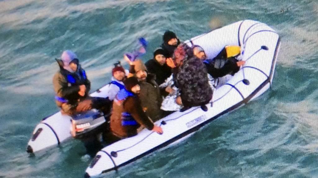 86 Migranten bei Ärmelkanal-Überquerung aufgegriffen