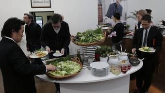 Kulinarische Höhenflüge sind an der Baselworld nicht mehr so gefragt