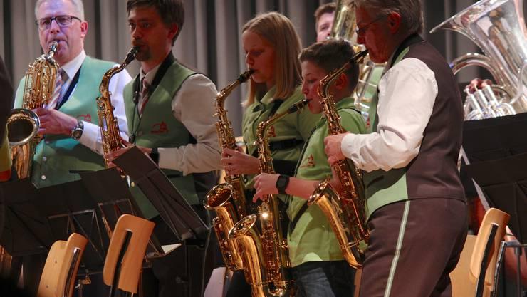 """""""Jugendliches"""" Saxophonregister"""