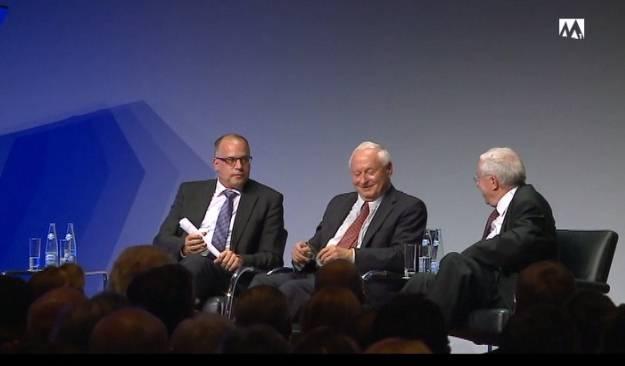 EU-Beitritt? Blocher und Lafontaine sind sich einig