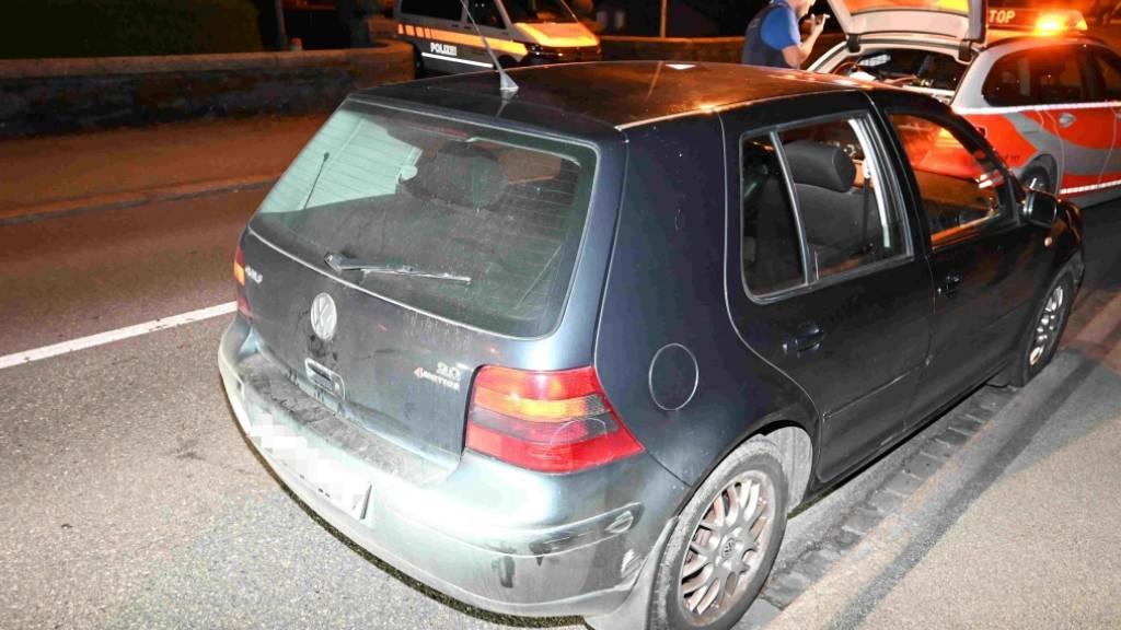 16-Jähriger Fahrer mit fünf Minderjährigen und gestohlenem Kontrollschild unterwegs