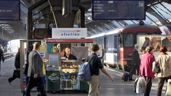 Die Elvetino AG ist das führende Bahngastronomieunternehmen in der Schweiz. (Archiv)