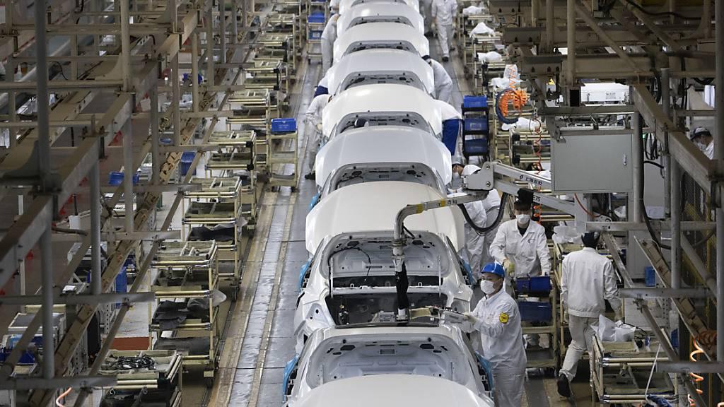 Chinas Industrie mit höchster Zunahme seit einem Jahrzehnt