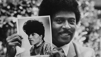 Rock n'Roll-Legende Little Richard 1981 in Los Angeles
