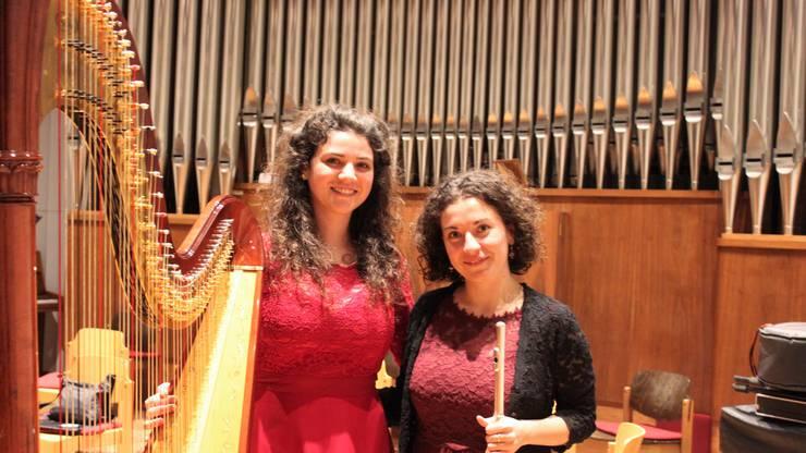 Johanna Thalmann und Evamaria Felder