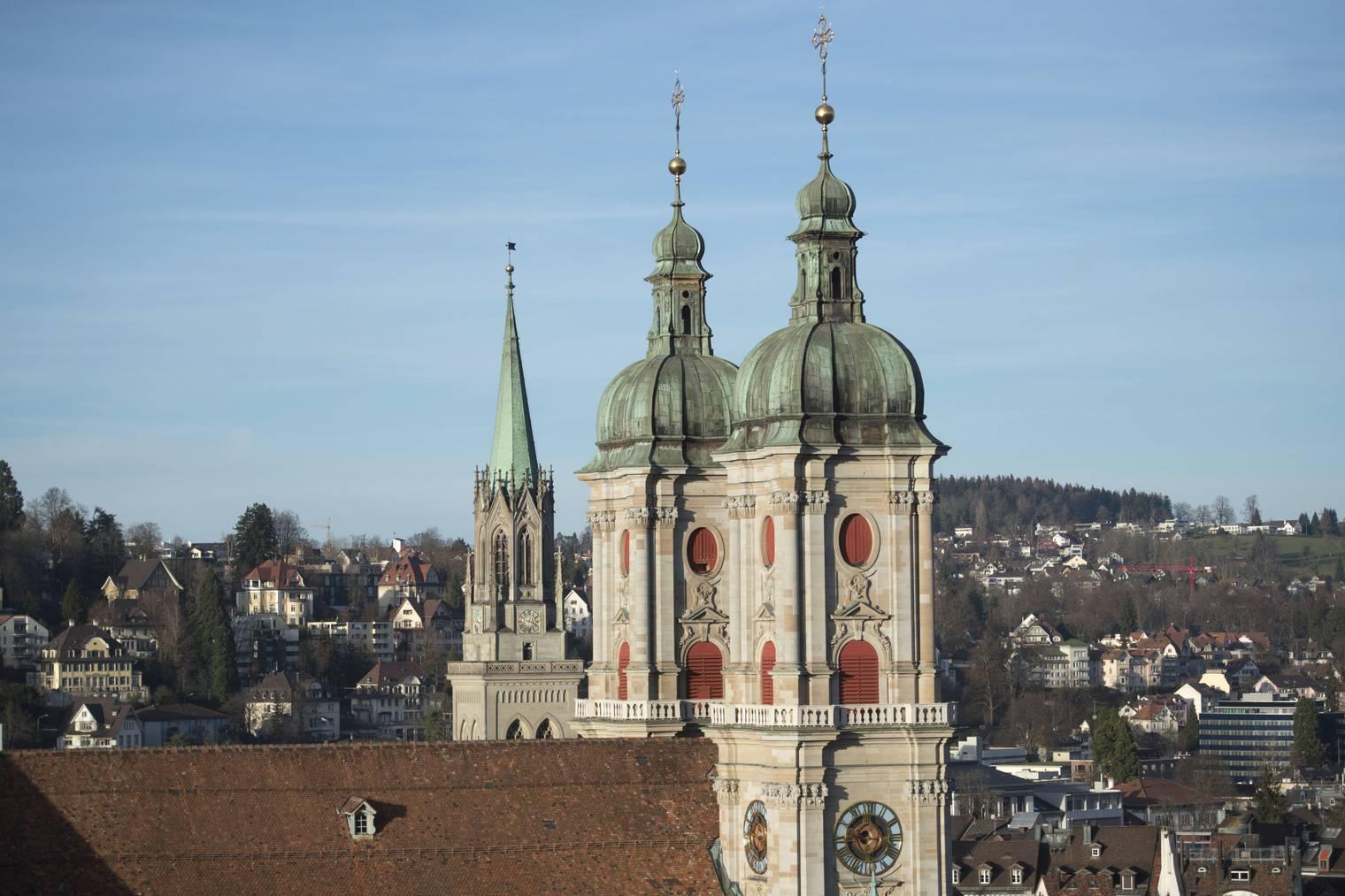 Die St.Galler Kathedrale wird dem Klima zuliebe während einer Stunde nicht beleuchtet