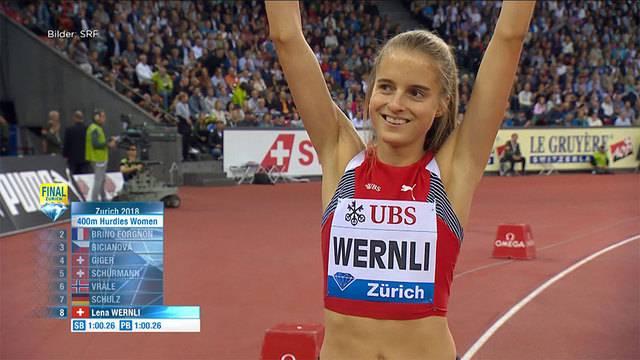 Grosser Auftritt für Lena Wernli
