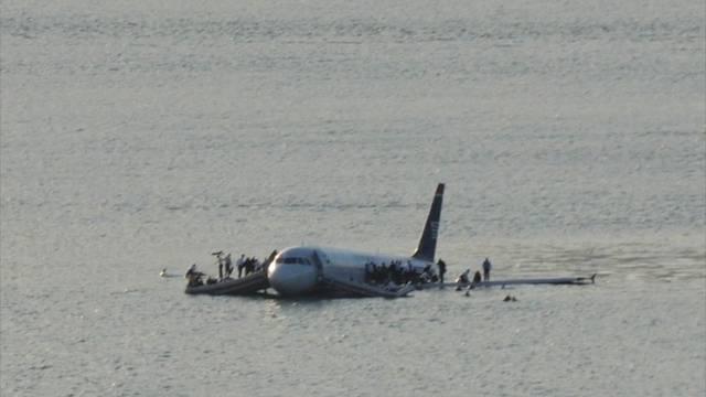 Erinnerung an die spektakuläre Landung auf dem Fluss Hudson