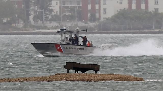 Der herrenlose Konzertflügel wurde an einem Strand bei Miami gefunden