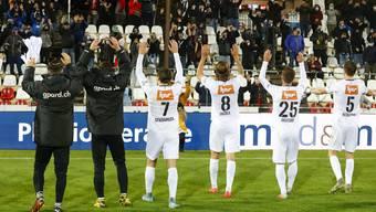 Der FC Aarau gewinnt im Brügglifeld gegen Xamax mit 3:1.
