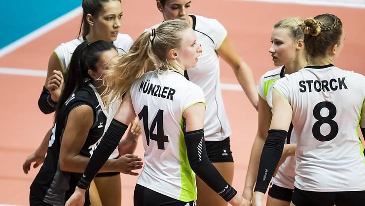 Betreten in Bratislava Neuland: Keine der 14 Schweizer Volleyball-Nationalspielerinnen hat bisher EM-Erfahrung sammeln können