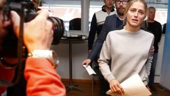 Therese Johaug musste im letzten Oktober in Oslo den positiven Dopingbefund bekannt geben