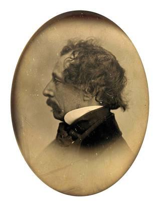 Eine seltene Abbildung von Charles Dickens mit kurzem Bart – normalerweise trug ihn der Schriftsteller länger.