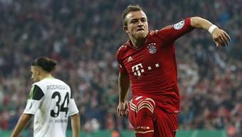 Shaqiri traf für die Bayern zur zwischenzeitlichen 3:1-Führung