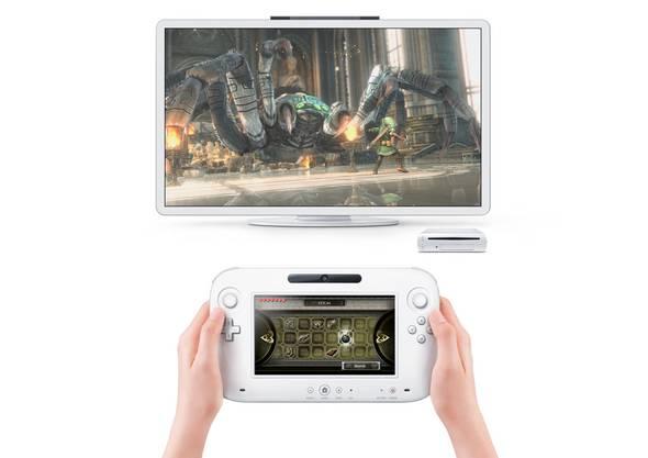 Die neue Wii U hat einen Touchscreen im Controller eingebaut.