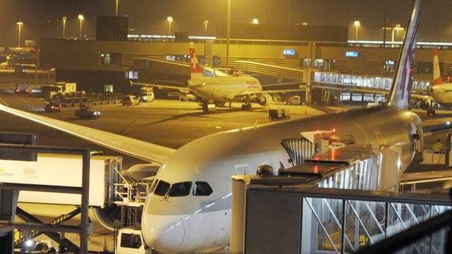 Dreamliner von Boeing (hier in Zürich, Archiv)