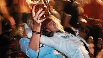 Der Alkohol floss wohl in zu grossen Mengen: Die Folgen beschäftigten nun das Obergericht. (Symbolbild)