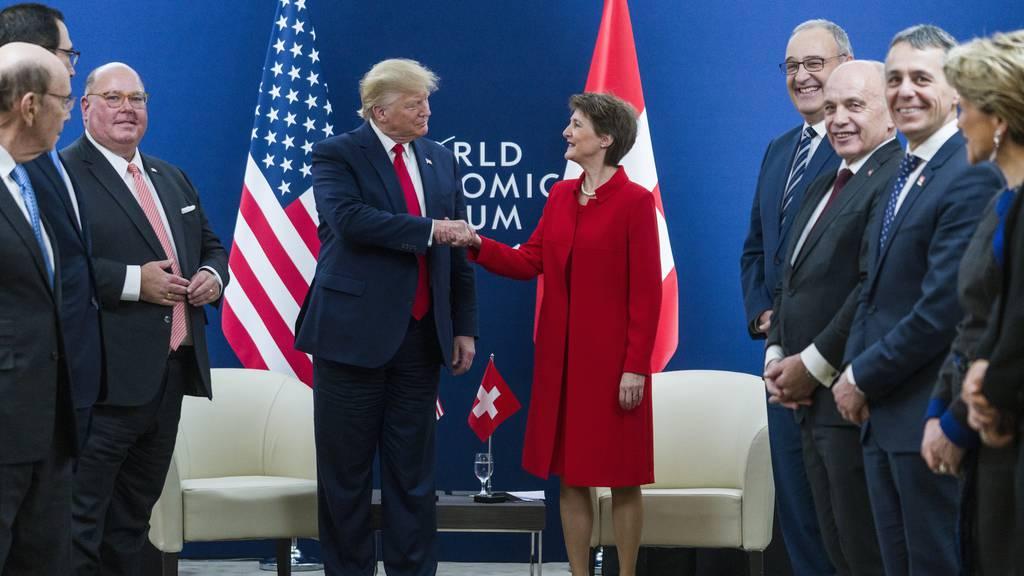 Keine grossen Fortschritte bei Freihandelsabkommen mit USA