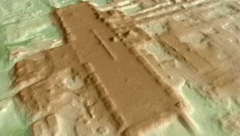 Aguada Fénix, die wohl älteste und grösste Zeremonialanlage der Maya (zVg)