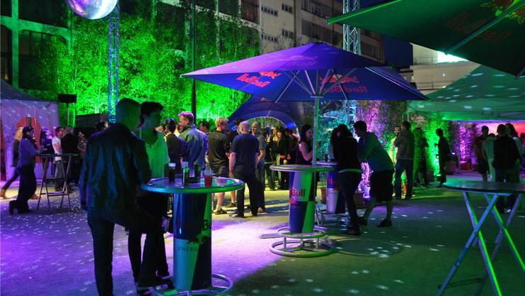 Bereits 2013 wurde eine Party auf dem Trafoplatz veranstaltet.