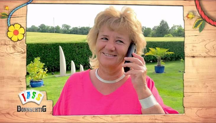 Die Grenchner Telefonjasserin Nathalie Schindler