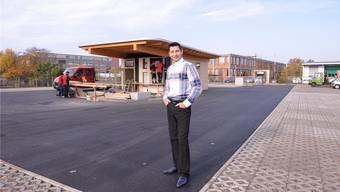 Jetzt wurde der neue Platz an der Friedrich-Miescher-Strasse eröffnet.