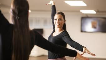Flavia Landolfi im Tanzstudio, wo nächstes Jahr ihre Tanzschule starten wird.