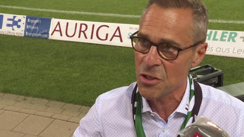 FCSG: Reaktion Matthias Hüppi